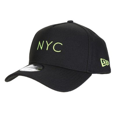 BONE NEW ERA ORIGINAL 940 AF SN SIMPLE FLUOR NYC BLK UPY NEP20BON157