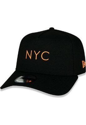 BONE NEW ERA ORIGINAL 940 AF SN SIMPLE FLUOR NYC BLK HFO NEI20BON156