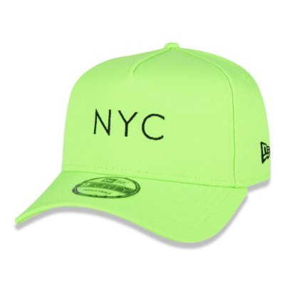 BONE NEW ERA ORIGINAL 940 AF SN SIMPLE FLUOR GRE NYC NEI20BON110
