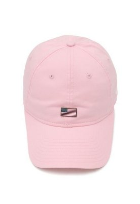 BONE NEW ERA ORIGINAL 940 SN 90S CONT US FLAG PINK NEI20BON100