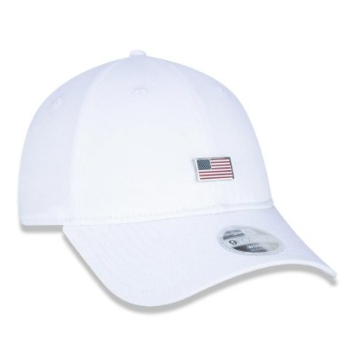 BONE NEW ERA ORIGINAL 940 SN 90S CONT US FLAG WHT NEI20BON098