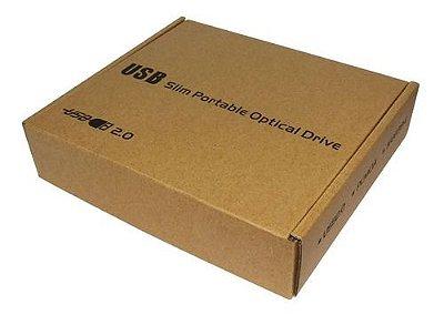 Gravador Dvd Cd Externo Usb 2.0 Garantia E Nf