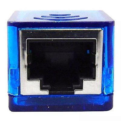 Adaptador Usb Lan Placa Rede Externa Rj45 Ethernet 10/100