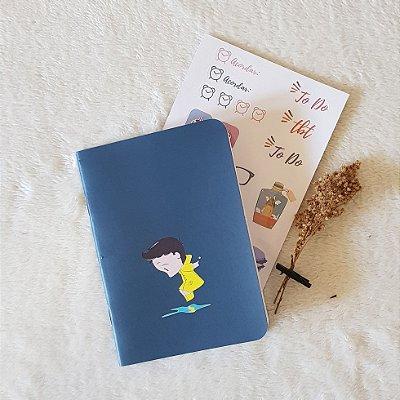 Caderneta Nuno na poça