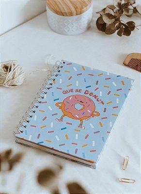 Caderno que se donut