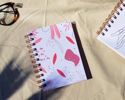 Mini sketchbook aromas A6