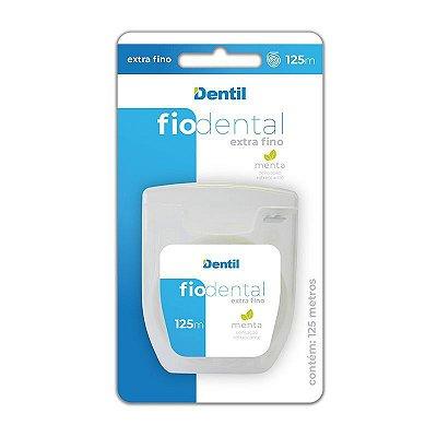 Fio Dental Dentil Extra Fino 125 metros