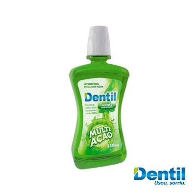 Enxaguante Bucal Dentil Multiação Hortelã 250ml ( Possui flúor )..