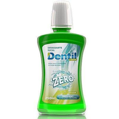 Enxaguante Bucal Dentil Zero Álcool com Xilitol 250ml