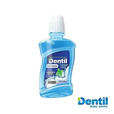 Enxaguante Bucal Dentil Fresh Mint 300ml (Tem ação antisséptica)...
