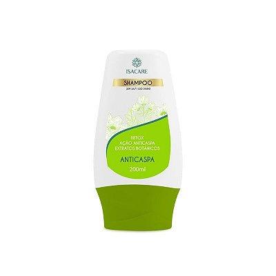 Shampoo Isacare Anticaspa Detox Verde 200ml ( Extratos Botânicos )