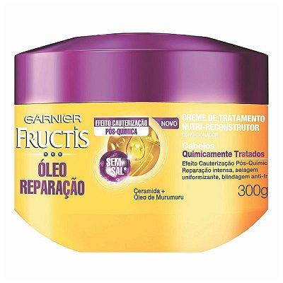 Creme de Tratamento Fructis Óleo de Reparação Pós Química 300gr