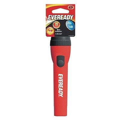 Lanterna Eveready Plástica 2AA Vermelha