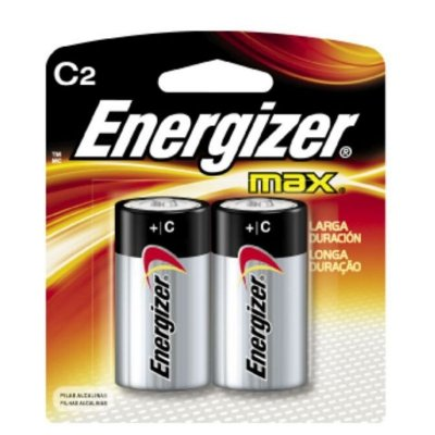 Pilha Energizer Max Média C2 1x2