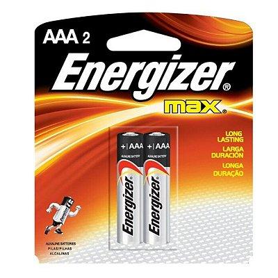 Pilha Energizer Max Palito AAA2 1x2