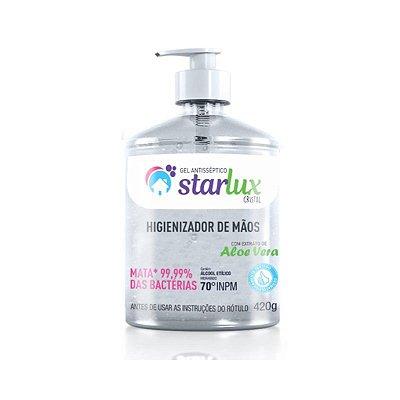 Álcool Gel para Mãos Starlux Asseptgel Cristal 420G