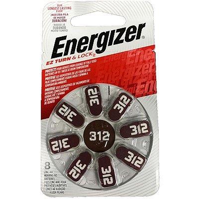 Pilha Energizer Audiológica 312 1x8