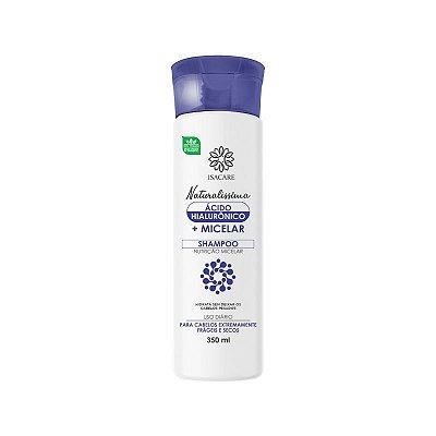 Shampoo Isacare Micelar+Ácido Hialurônico 350ml (Livre de Resíduos)