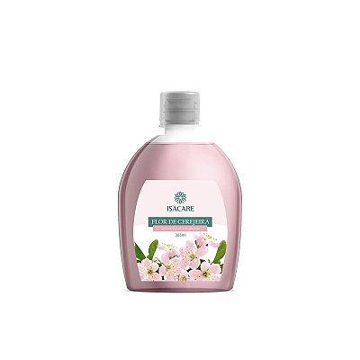 Sabonete Líquido Isacare Flor Cereja 365ml(Pele Hidratada e Sedosa)