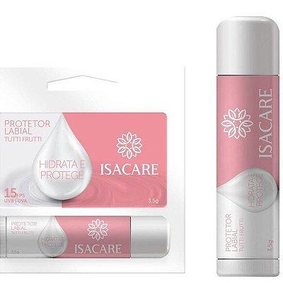 Protetor Labial FPS 15 Tutti Frutti Hidrata e Protege  -  Isacare