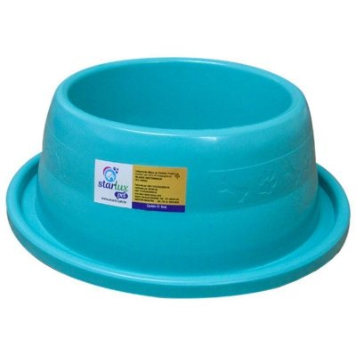 Comedouro Plástico Resistente Antiformiga N3 1000 ML - Starlux Pet