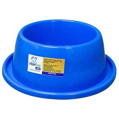 Comedouro Plástico Resistente Antiformiga 550 ML Linha Starlux Pet