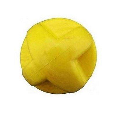 Bola Maciça Para Cachorro Colorida Super Ball 60m Linha Starlux Pet