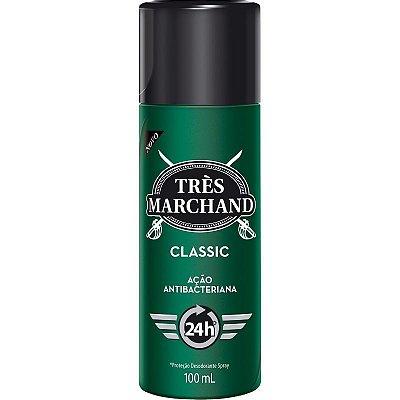 Desodorante Spray Tres Marchand 100ML ( Protege Contra os Odores )