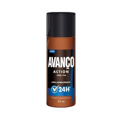 Desodorante Spray Avanco Action 85ML ( Protege Contra os Odores )