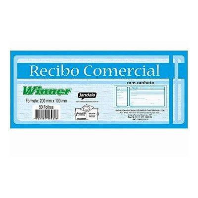 Talão Para Recibo Comercial 200MMX100MM  Qualidade - Linha Winner
