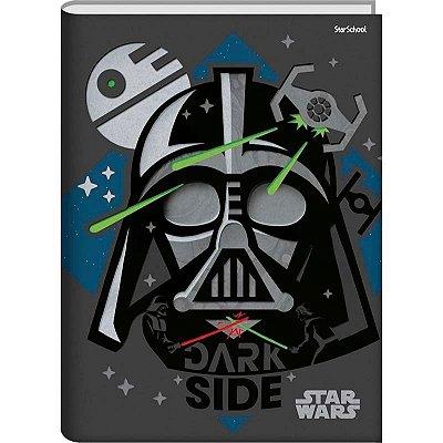 Caderno Universitário Disney Star Wars CD  80 folhas – StarSchool