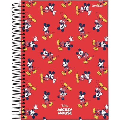 Caderno Universitário Disney Mickey 15 M 240 Folhas  – StarSchool
