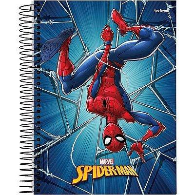 Caderno Universitário Disney Spider 15 M  240 Folhas – StarSchool