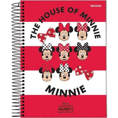 Caderno Universitário Disney Minnie 10 M 160 Folhas –  StarSchool