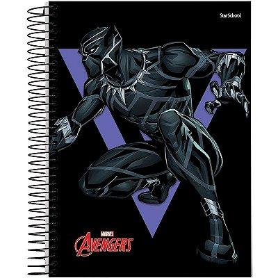 Caderno Universitário Disney Avengers 1 M 80 Folhas –  StarSchool