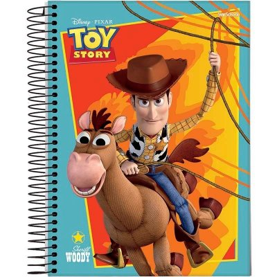 Caderno Disney Toy Story Espiral Capa Dura 80 Folhas – StarSchool