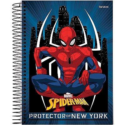 Caderno Disney Spider Espiral  Capa Dura 80 Folhas  –  StarSchool
