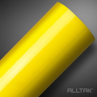 VINIL ALLTAK ULTRA BANANA YELLOW 1,38MT X 1,00MT