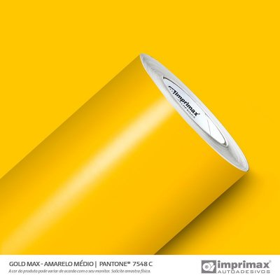 VINIL GOLD MAX AMARELO MÉDIO 1,22MT X 1,00MT