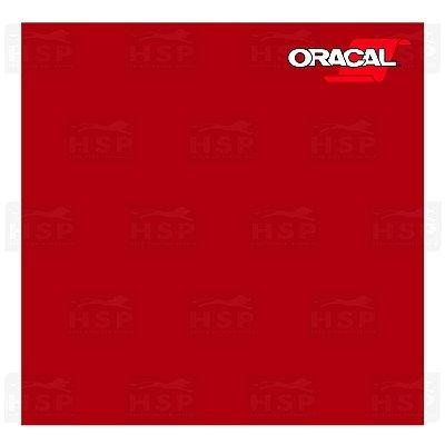 VINIL ORACAL 651 RED 031 1,26MT X 1,00MT