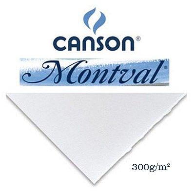 PAPEL CANSON MONTVAL 300GR 50X65CM