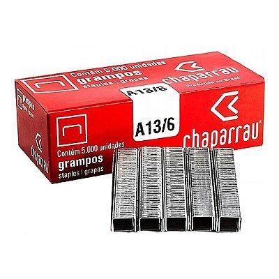 GRAMPO CHAPARRAU GALVANIZADO A13/8 C/ 5000 UNI.  PARA RAPID R23