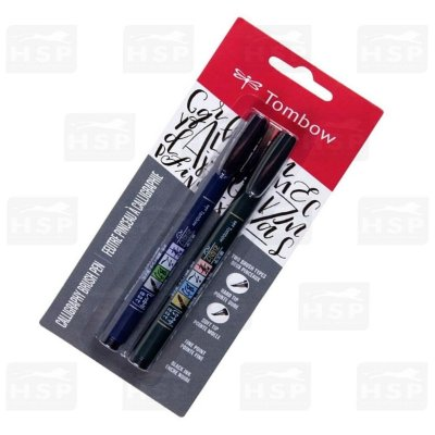 CANETA TOMBOW CALLIGRAPHY BRUSH C/2 UN