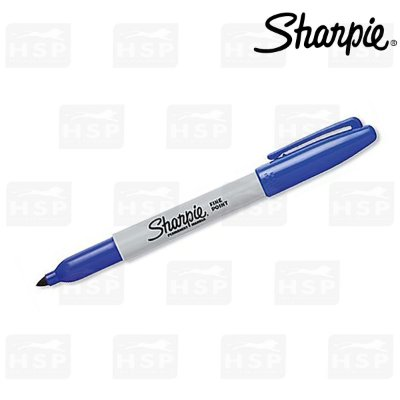 MARCADOR SHARPIE PERMAMENTE FINE POINT AZUL