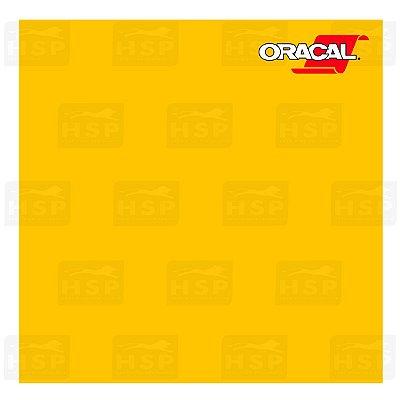 VINIL ORACAL 651 YELLOW 021 1,26MT X 1,00MT