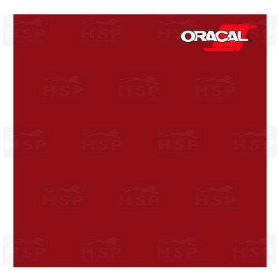 VINIL ORACAL 651 DARK RED 030 1,26MT X 1,00MT