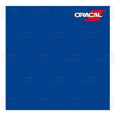 VINIL ORACAL 651 TRAFFIC BLUE 057 1,26MT X 1,00MT
