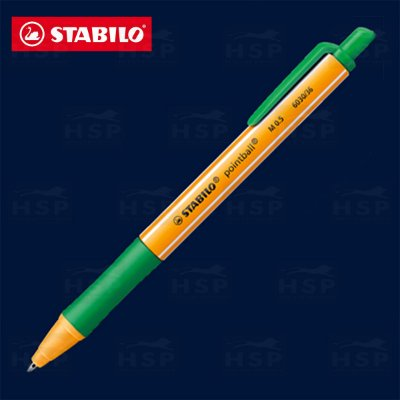 CANETA STABILO POINTBALL 6030/36 VERDE OLIVA