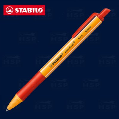 CANETA STABILO POINTBALL 6030/40 VERMELHA