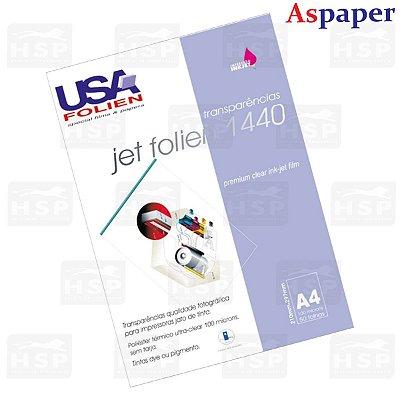 TRANSPARENCIA JET FOLIEN 1440 USA A4 C/50FLS